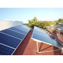 Soporte Para Panel Solar Fabricado En Aluminio, De 250w