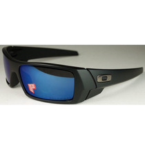 Oakley Gascan Matte Black - Ice Iridium Polarized 26-244