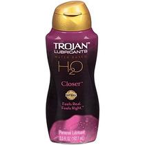 Trojan Lubricantes H2o Más Cerca De 5.5 Oz