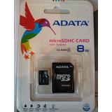 Micro Sd 8gb Adata