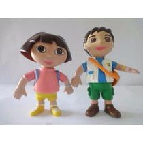 Dora Y Diego Muñecos De Plastico