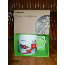 Taza Starbucks Virginia Serie Yah - Acepto Cambios