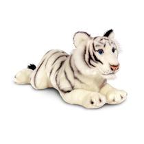 Tigre Peluche - Keel Toys 46cm Acostado Vida Silvestre Big W