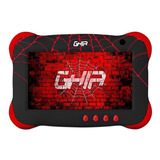 Tablet Ghia Kids Gtkids7 7  16gb Negra Con Memoria Ram 1gb