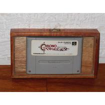 Super Nintendo Chrono Trigger Japones En Caja Exhibidor