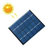 Celda Panel Solar 6v 330ma 2w Max, Carga Bateria Lip, Cel
