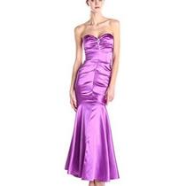 eed9df6a9 Vestido De Noche Corte Sirena Morado Strapless en venta en Bosques ...