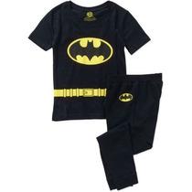 Conjunto Del Sueño Dc Comics Batman Tight Fit Traje De Boys