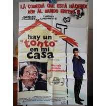 Poster Hay Un Tonto En Mi Casa Le Diner De Cons Jac Villeret