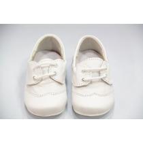Zapato Piel Niño Bautizo Mod: 0501