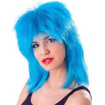 Oropel Peluca - Aqua Blue Tina De Lujo Del Vestido De Acceso