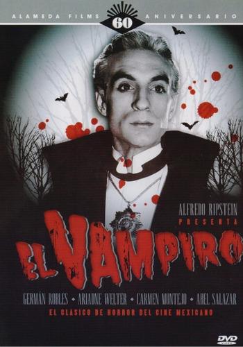 El Vampiro Dvd Germán Robles Película Nuevo