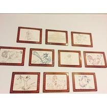 10 Dibujos Del Rey Leon Con Certificado De Autenticidad!!!