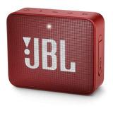 Bocina Jbl Go Go 2 Portátil Inalámbrico Ruby Red