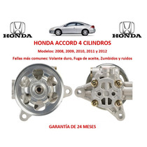 Bomba Direccion Hidraulica P/caja Honda Accord 4cil 2011