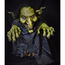 Adorno Halloween Dia De Muertos Bruja Witch Puppet Display