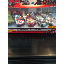 Marvel Colección 5 Pza Hot Wheels