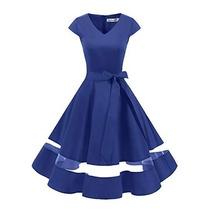Busca Vestido Azul Rey Con Blanco Para Fiesta O Confirmacion