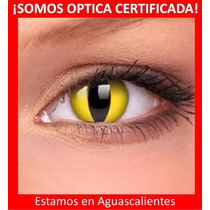 Pupilentes Para Halloween De Optica! No De Tianguis Cuidado!