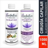 Tratamiento Keratina Brasileña Alasiante + Shampoo Kit 1l