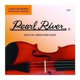 Juego Cuerdas Violin 4/4 Pearl River 134-4/4 Envio Inmediato