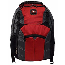 Mochila Bacpack Para Laptop 16 Swissgear Sherpa Rojo/negro