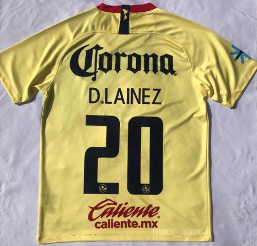 c2aa37a0f7bf6 Jersey Playera America Local 2018-2019 D. Lainez en venta en ...