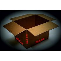 Paq 45 Cajas Cartón,empaque,mudanza,envíos 59.5x29.5x32.5