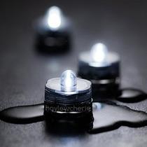 Sumergibles Luces Led (juego De 24) - Blanco Brillante Imper