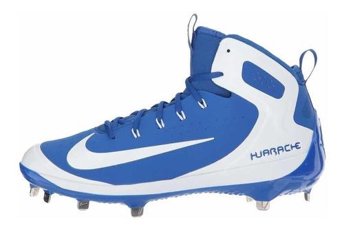 Nike Alpha Huarache Elite Spikes Beisbol Azul Remate
