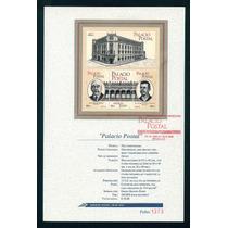Mexico 2000 Palacio Postal Hoja Fdc Oficial Correo Rara Impe
