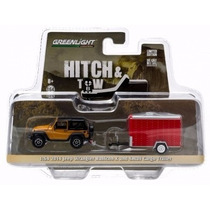 Greenlight Jeep Wrangler Rubicon Cargo Trailer Hitch & Tow