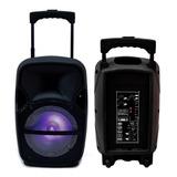 Bafles Amplificados 8 Pulgadas Bluetooth Extra Bass Velikka