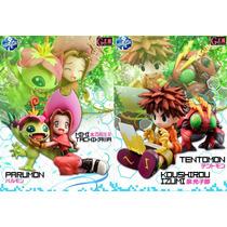Digimon Adventure Mimi Y Palmon / Izumi Y Tentomon