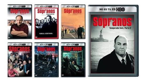 Los Sopranos Serie Completa Excelente Calidad