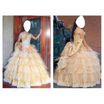 Vendo Vestido De Xv Años Gran Precio Comunícate 4773671026