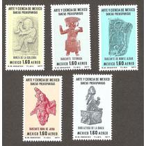 Arte Y Ciencia De Mexico 1977 Figuras Prehispanicas Vbf