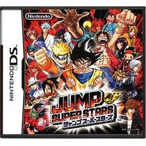Jump Super Stars Nintendo Ds Japones