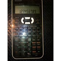 Sharp Calculadora Cientifica Advanced D.a.l. Mod El-531x