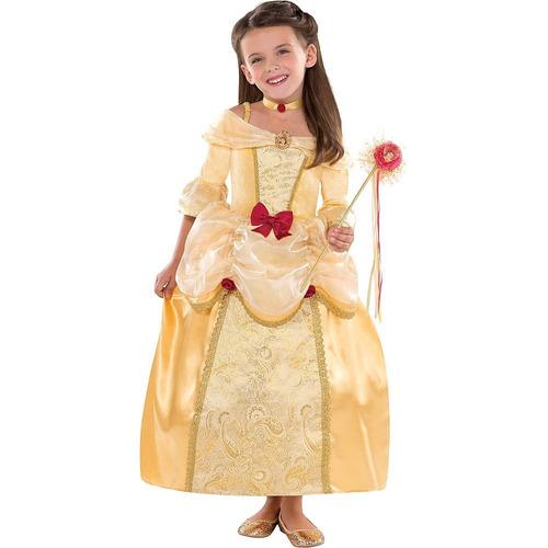 Disfraz De Bella Para Niñas Vestido La Bella Y La Bestia En