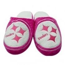 Pantufla Frc Slide Rosa Acereros Pittsburgh Steelers