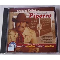 Eulalio Gonzalez Piporro Grandes Exitos Cd Orfeon P Metro