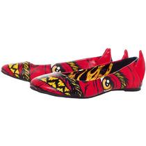 Flats Iron Fist Rojos Soul Stealer Diablo Coleccion 2014