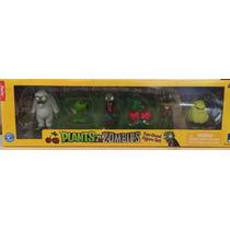 Plantas Vs Zombies Set De 6 Figuras Pop Cap