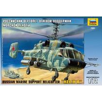 Zvezda Helicoptero Ka29 Kamov Sovietico 1/72 Armar Pintar