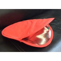 Tortillero Promocional Tres Capas Rojo 10 Pzas