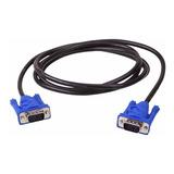 Cable Vga A Vga Macho / Macho 3 Metros Laptop Pc Proyector