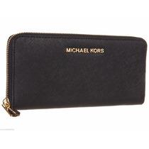 Wallet Michael Kors 100% Originales Mk Saffiano