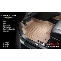 Tapetes Chrysler Uso Rudo 1ra Y 2da Weathertech Floorliner
