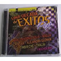 Decada De Exitos Pop Cd/dvd Thalia Laura Flores Anahi Lucero